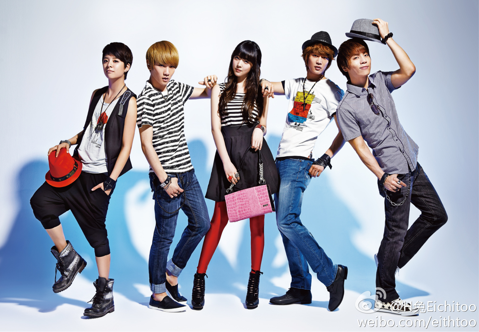 [FOTO] Sessão de fotos com JongHyun, Amber, MinHo, Sulli e ...